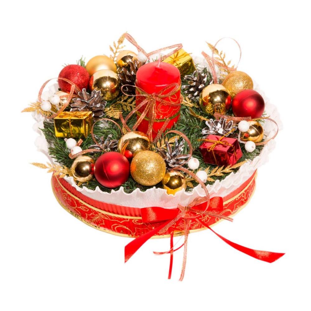 """Торт из чая """"Рождество"""""""